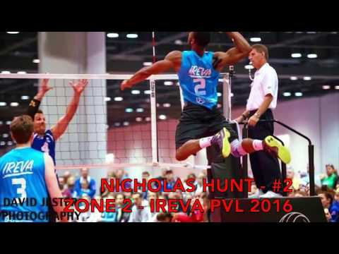 Nicholas Hunt Volleyball Highlights 2016