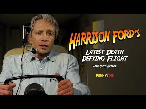 Harrison Ford's Latest Death Defying Flight (with Chris Kattan)