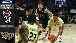 NC State vs. Wake Forest - Condensed Game | 2018-19 ACC Basketball