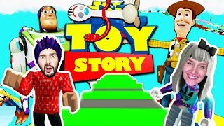Roblox: AUS TOY STORY 4 ENTKOMMEN! GEFANGEN IN NINAS LIEBLINGSFILM! Escape Obby Toy Story