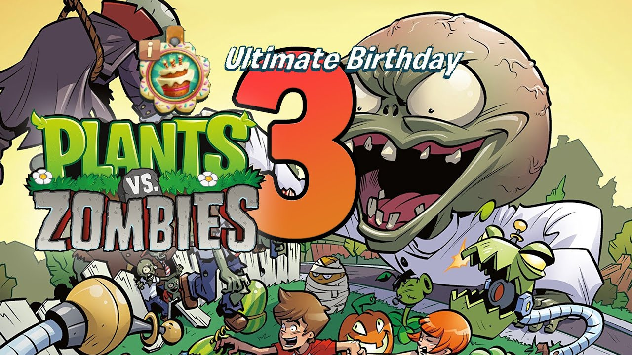 Plants vs Zombies 3 - Ultimate Birthday League Win! - Как оно в высшей лиге PvZ3?