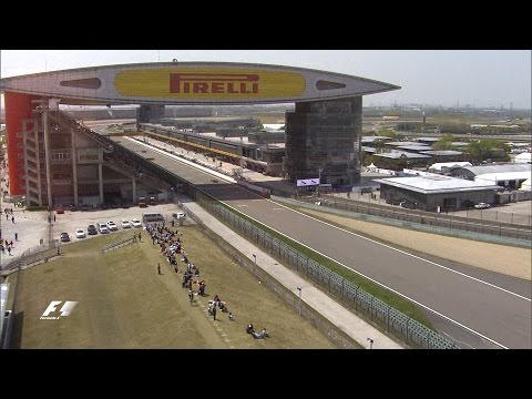 Bird's Eye View of the Shanghai International Circuit | Chinese Grand Prix 2016