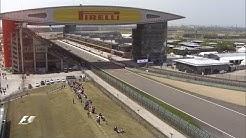 Bird's Eye View of the Shanghai International Circuit | Chinese Grand Prix 2016