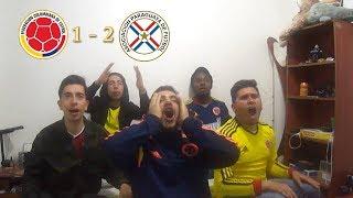 Colombia 1 - Paraguay 2 | Eliminatorias Rusia 2018 | REACCIÓN AMIGOS