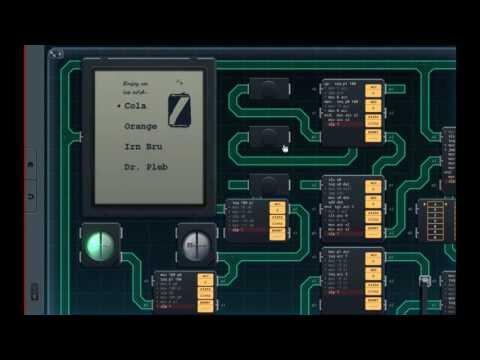 SHENZHEN I/O: Vending Machine Interface