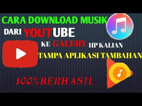 #tutorial #mendownload Tutorial mendownload music dari YouTube ke galeri hp kalian thumbnail
