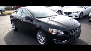 2014 Volvo S60 T5 FWD Walkaround, Start up, Tour, Overview and Review