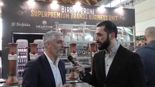 """Presentato il nuovo provetto ''meantime & friends e almond22 per gentianipa"""" allo stand superpremium brands business unit di birra peroni a beer food attra..."""