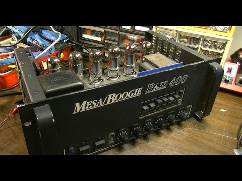 Another DOOZY! - Mesa Boogie Tube Bass 400 Head Repair