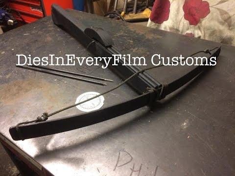 Making a leafspring crossbow