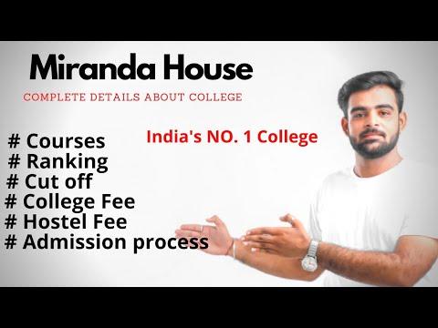 Miranda House College In Delhi University|Miranda House College Complete Details Delhi University