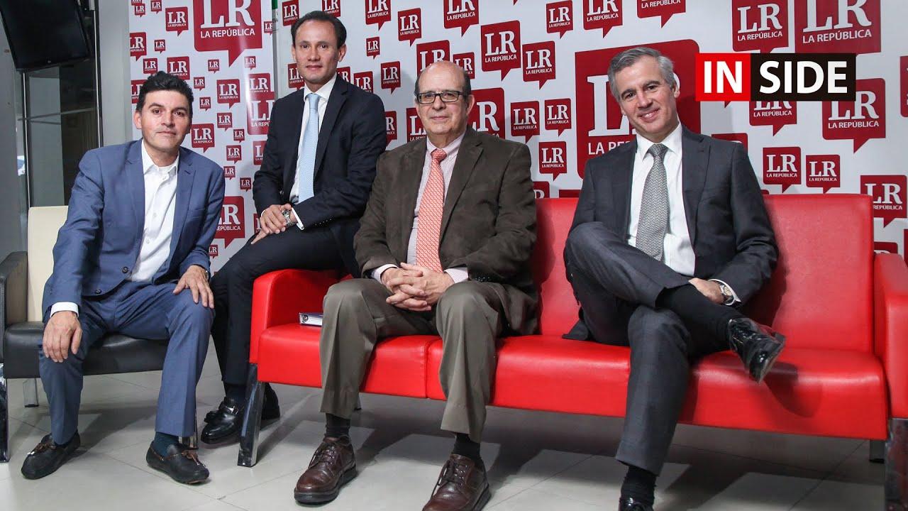 Orlando Cabrales, Mauricio Rodríguez, Alejandro Castañeda y Daniel Romero