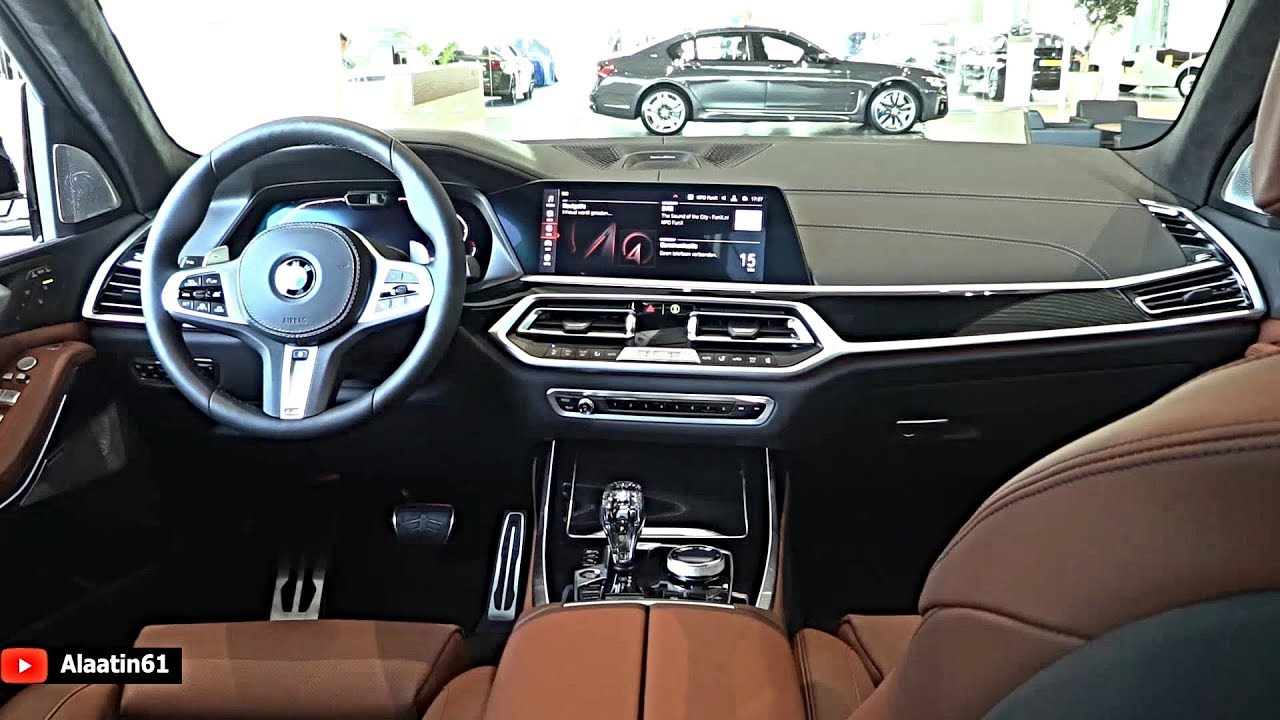 Bmw X7 2020 Black Interior