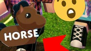 Kauf des Pferdes in Adopt Me Roblox *Venedig222GDR* FT Dialga_444:D
