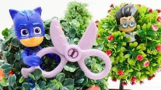 Spielspaß mit den Pyjamahelden - Catboy wird verwandelt - PJ Masks Toys