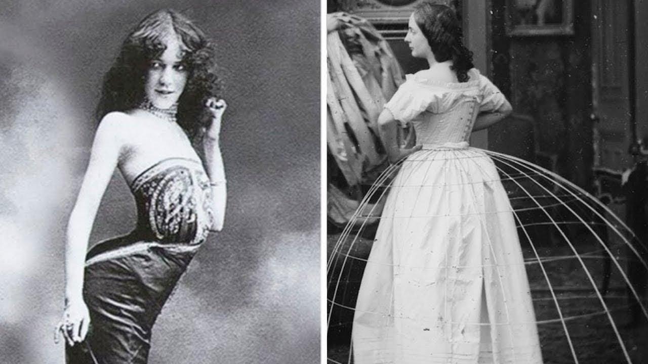 10 أشياء جنونية كانت تفعلها المرأة في الماضي لتبدو جميلة !!