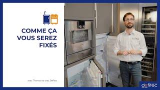 Comment intégrer un frigo dans un meuble de cuisine ? Plus d'infos sur les systèmes de fixation