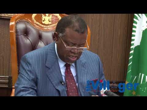 President Geingob reshuffles cabinet