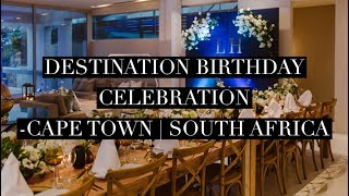 Cape Town Destination Celebration