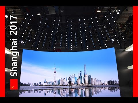 Shanghai Motor Show 2017 - Auto Shanghai 2017 - Planung Eventtechnik - curved LED Wall / Video Wall