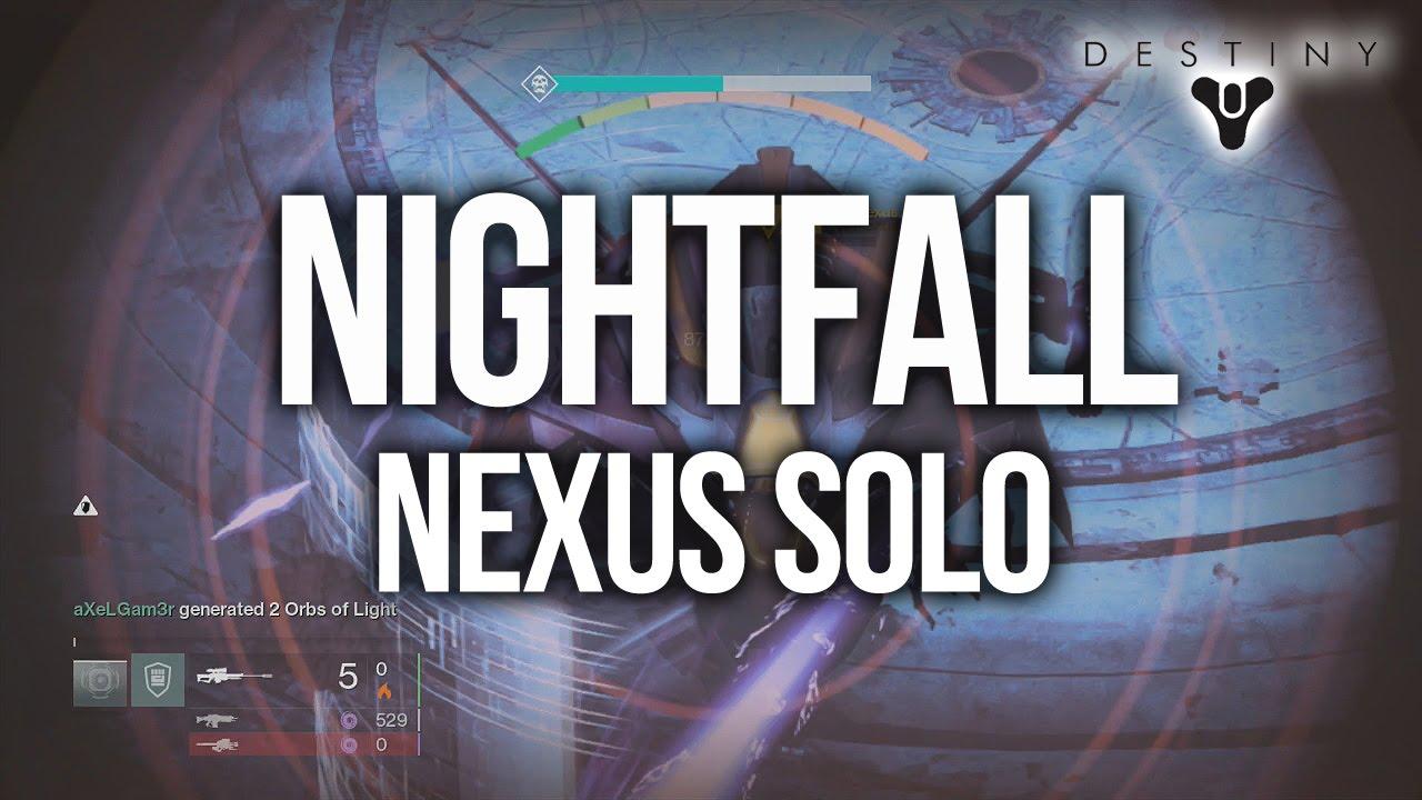Destiny - How to beat all Nightfall Strikes SOLO
