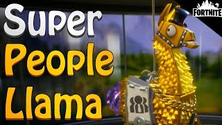 FORTNITE - Opening 1 Super People Llama And 10 Storm Llamas