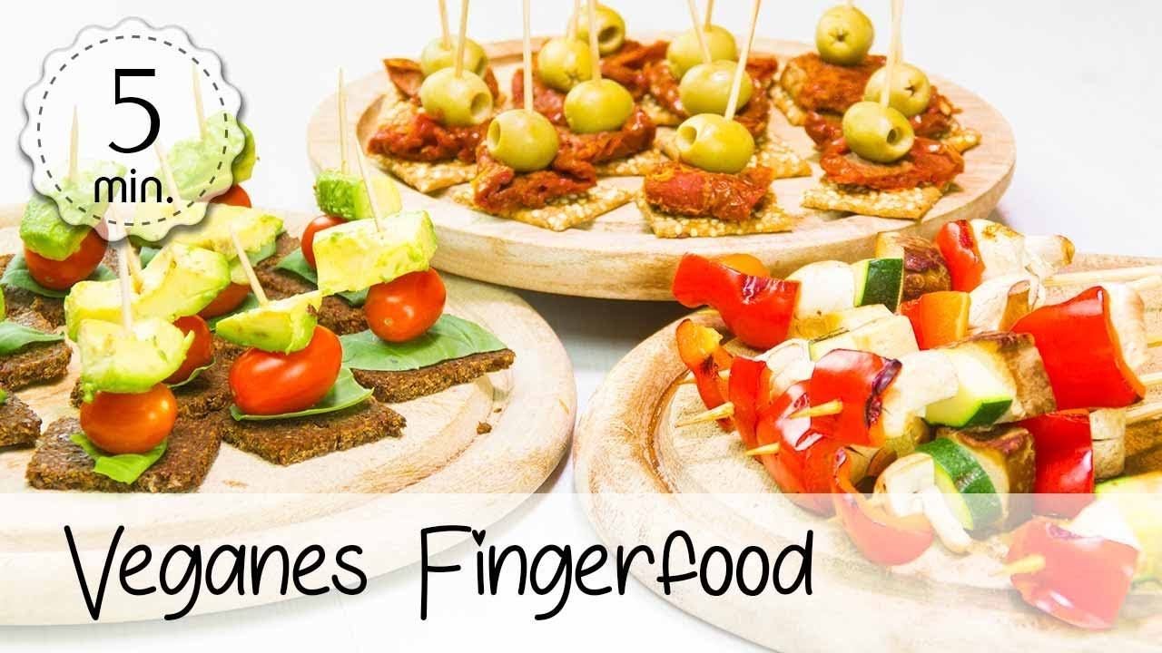 3 vegane fingerfood rezepte einfach und schnell vegane h ppchen f r partys 5minuterecipes. Black Bedroom Furniture Sets. Home Design Ideas