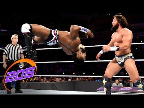 Cedric Alexander vs. Tony Nese: WWE 205 Live, Oct. 10, 2018