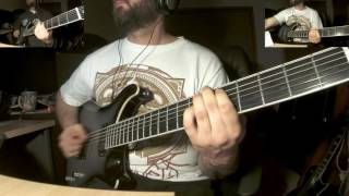 Dethklok - I Tamper with the evidence at the murder site of Odin - guitar cover