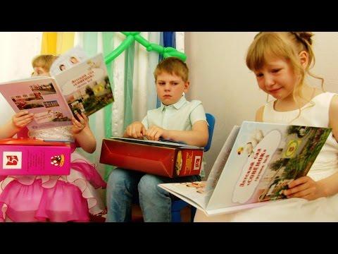 Вручение подарков выпускникам. Детский сад Совёнок, Ярославль-2016