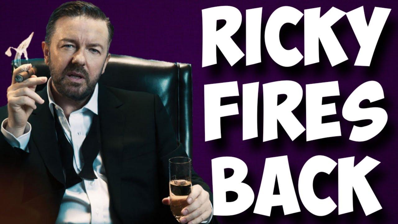 Ricky Gervais responds to woke media | Has Hollywood feeling backlash!