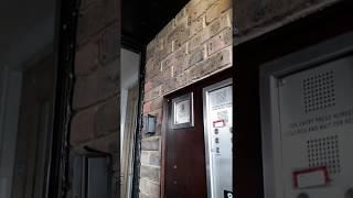 Fireman's drop key door entry