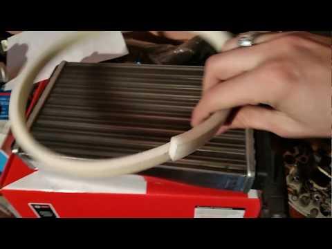 Замена радиатора печки БЕЗ снятия торпеды ваз 2114. самый быстрый и удобный способ.