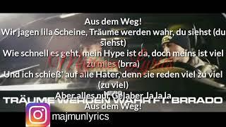 Mero ft. Brrado - Traüme werden wahr Lyrics