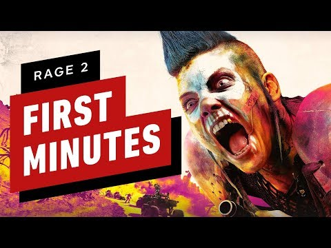 The First 20 Minutes of Rage 2 Gameplay