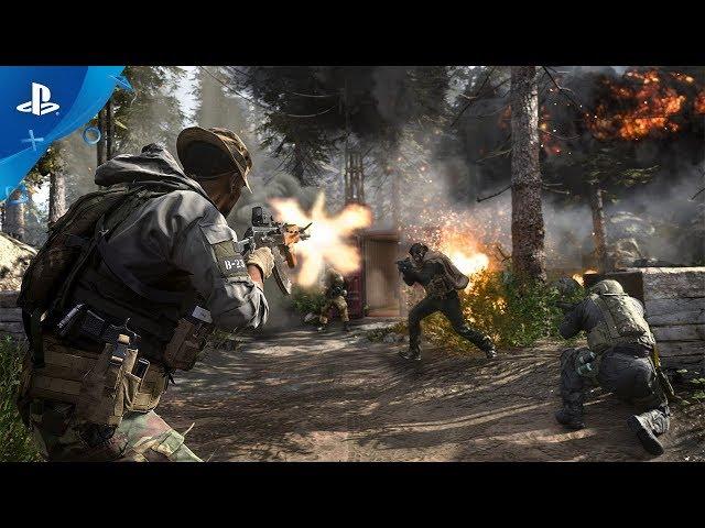 Call of Duty: Modern Warfare - Multiplayer Reveal Trailer   PS4