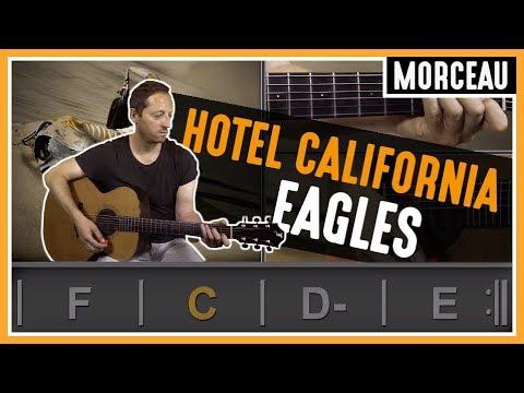 Cours de guitare : Apprendre Hotel California de Eagles