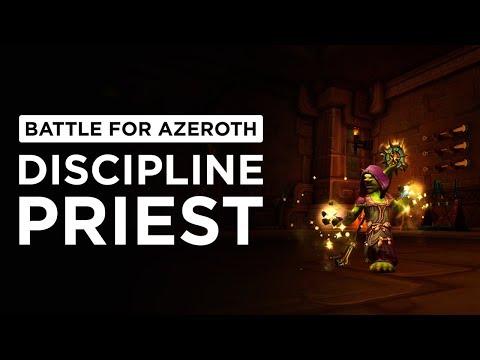 Discipline Priest   WoW: Battle for Azeroth - Alpha [1st Pass]