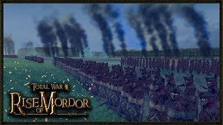 The Last Alliance Of Men And Dwarfs - Rise Of Mordor Total War Game...
