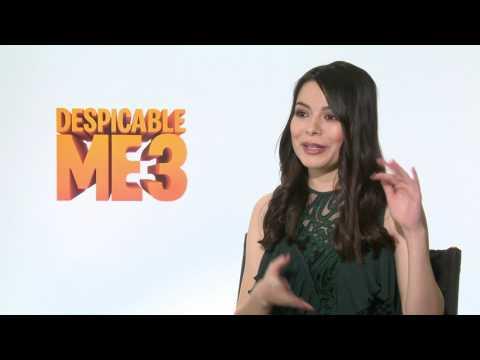 Despicable Me 3 Junket Interview - Miranda Cosgrove (official video)