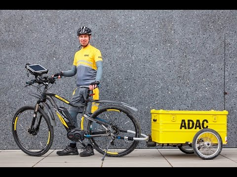 Pannenhilfe per E-Bike | Helfen mit Herz | ADAC