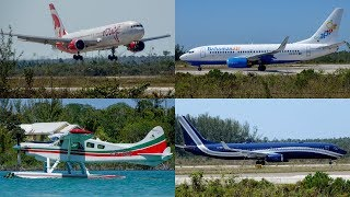 Bahamas | March 22/2019 Planespotting Compilation | Airport and Lake