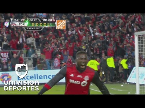 ¡GOL! Jozy Altidore | MLS Cup: Toronto FC 1-0 Seattle Sounders