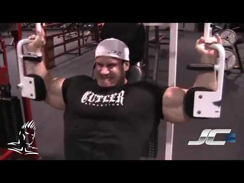 Throwback Thursday from the Cutler vault Jay trains chest 8 5 weeks out from 2011 Olympia