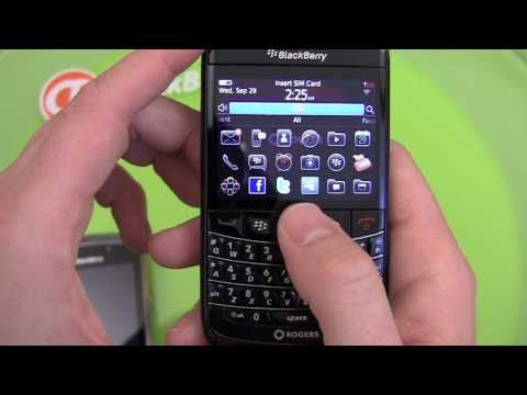 BlackBerry Bold 9780 Unboxing and Review