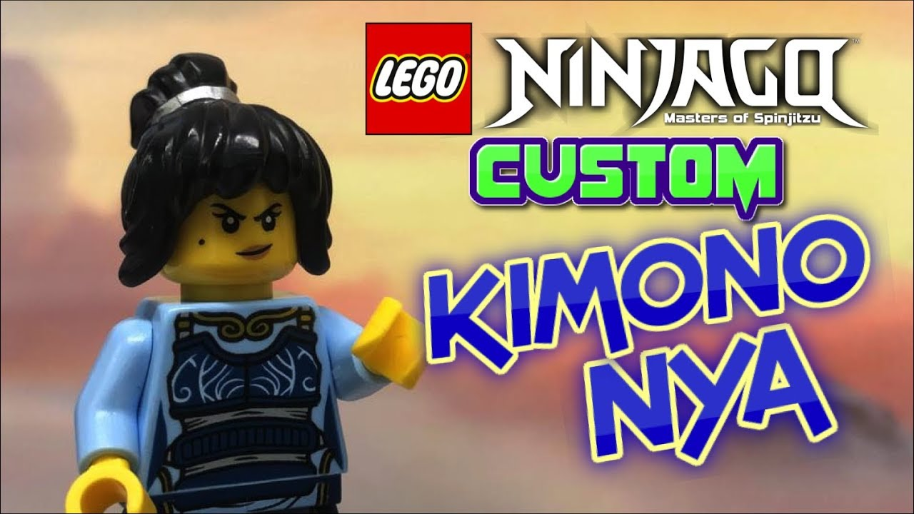 LEGO NINJAGO: Custom KIMONO NYA minifigure from Season 10 Episode 95 (2019)