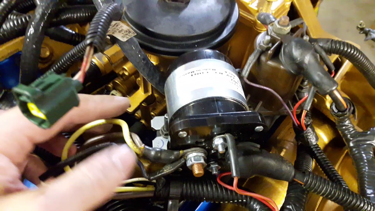 2001 Ford F350 Super Duty Psd 7 3 Stancor Glow Plug Relay Installed Youtube