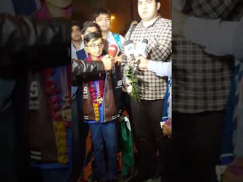 Pakistani student scores gold at international math competition.02