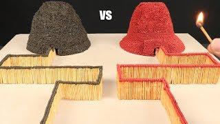 Match Chain Reaction Amazing Fire Domino VOLCANOES ERUPTION