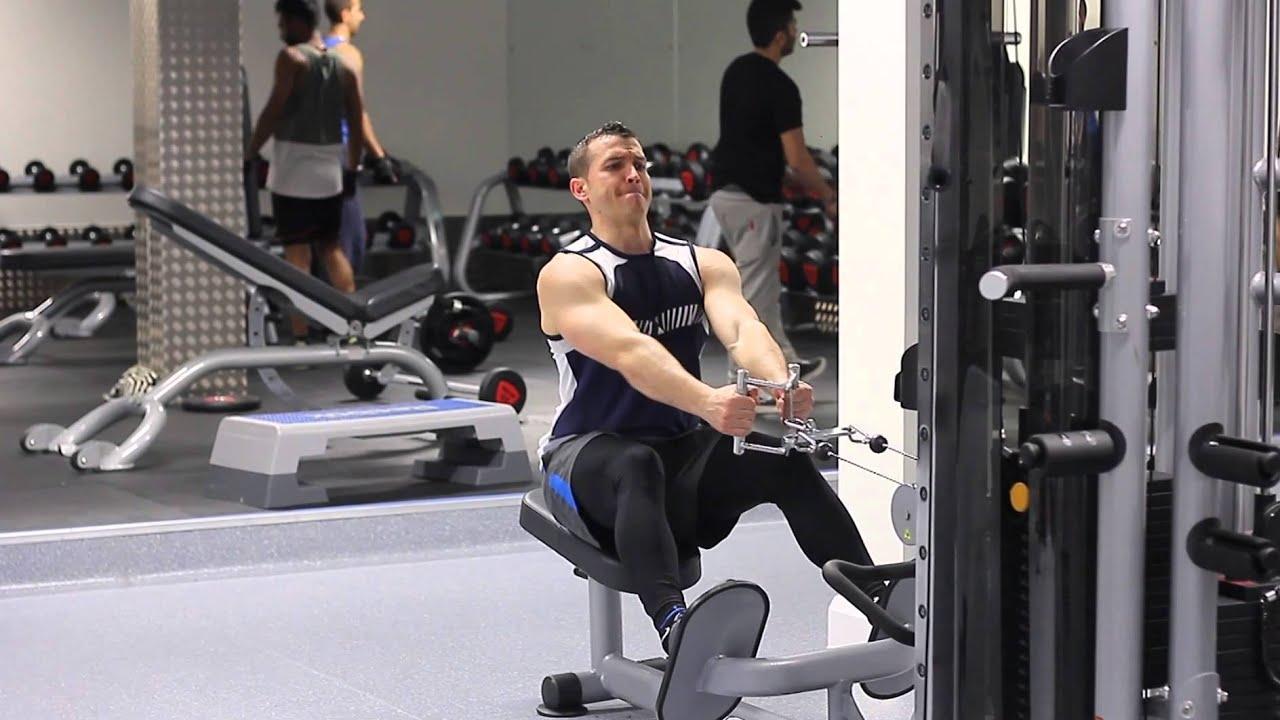entrenamiento en circuito pesas